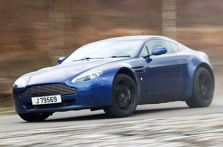 GMR 600 Aston Martin V8 Vantage first drive review