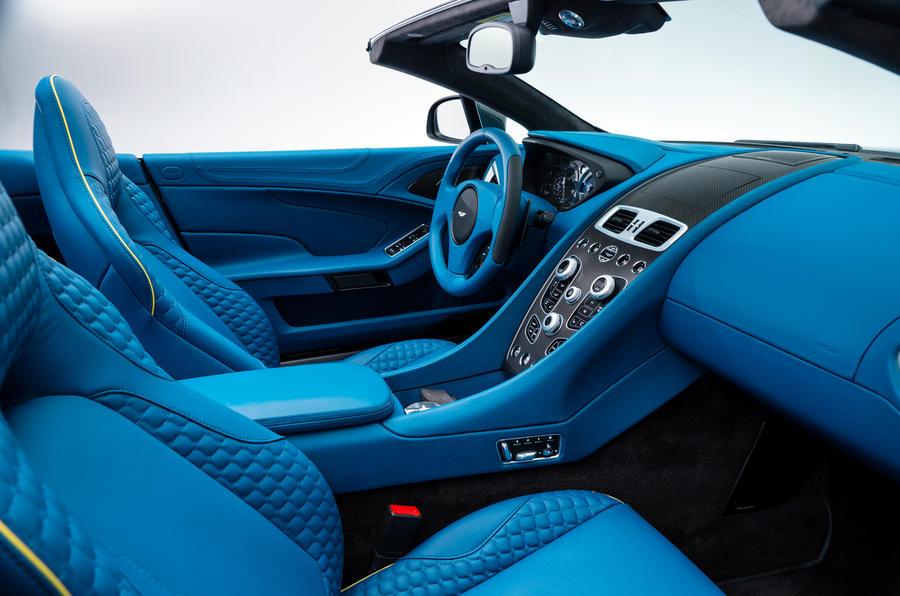 Aston Martin Vanquish Volante unveiled