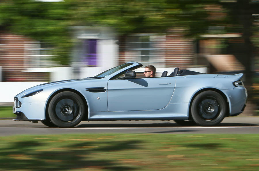 Aston Martin V12 Vantage S Roadster UK first drive review