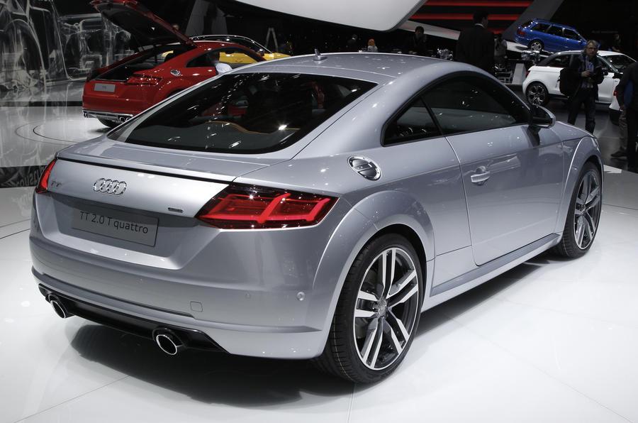 New Audi TT revealed