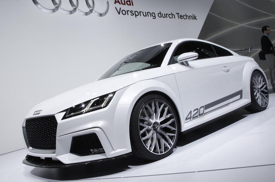 Expanded Audi TT Range To Spawn New Family Car
