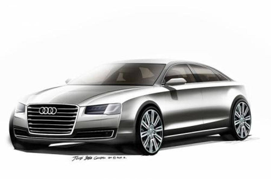 Revised Audi A8 - first images