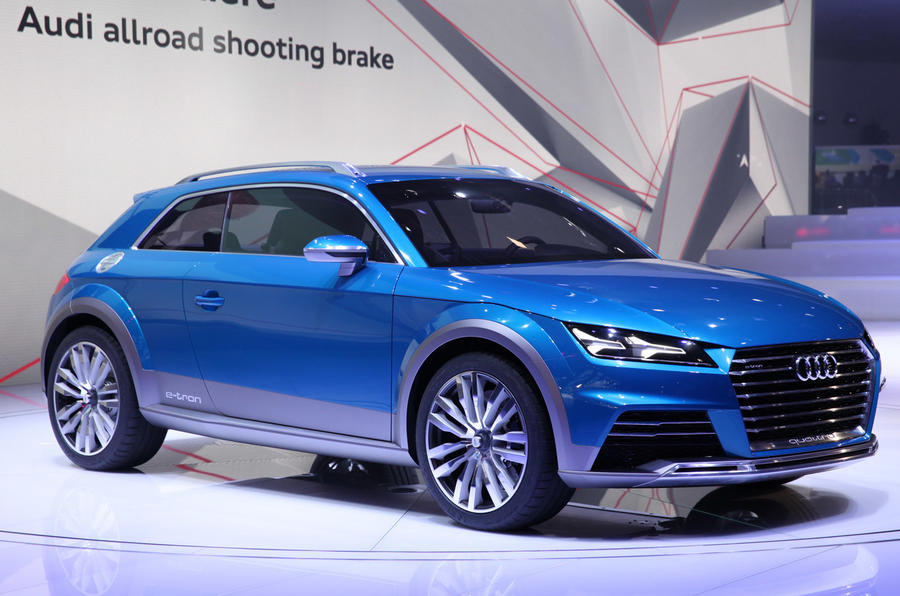 Allroad Shooting Brake hints at new TT