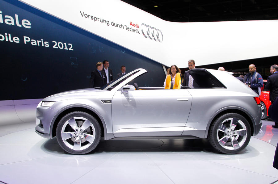 paris motor show 2012 audi crosslane coupe autocar. Black Bedroom Furniture Sets. Home Design Ideas