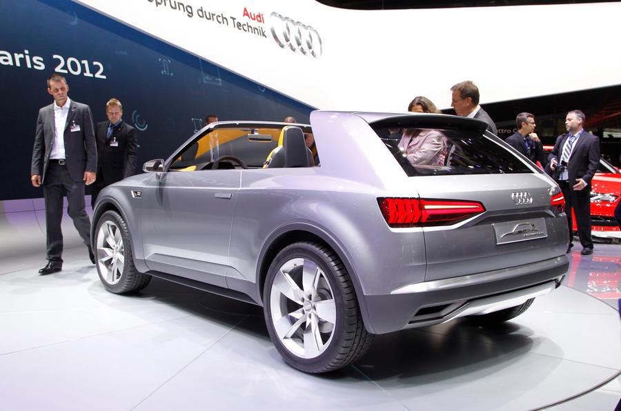 Paris Motor Show 2012 Audi Crosslane Coupe Autocar