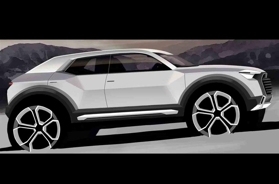 Audi Q1 to start production in 2016