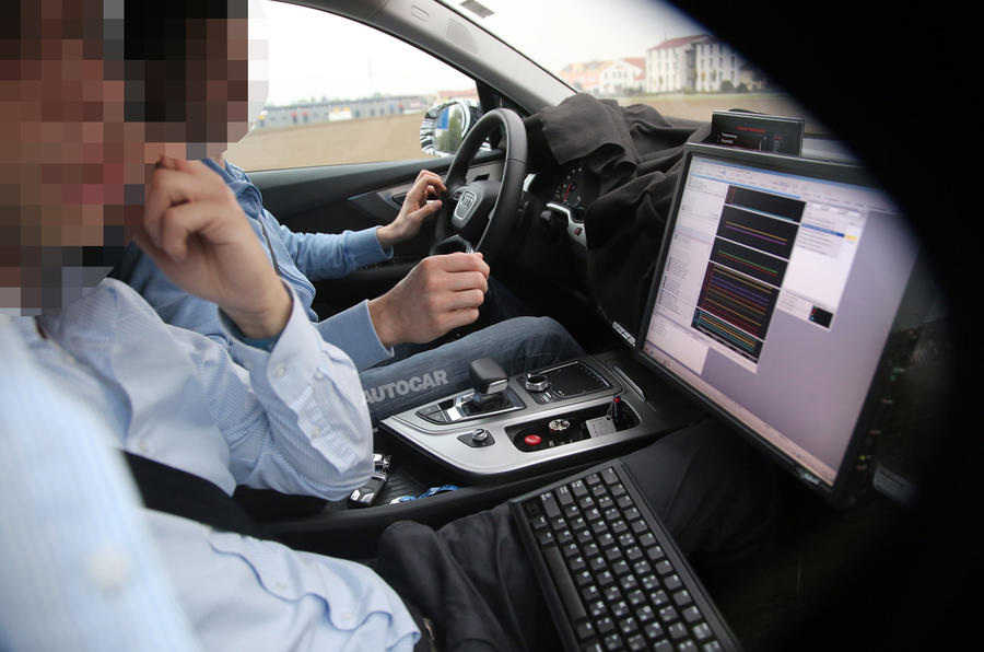 New Audi Q7 nears Detroit motor show launch