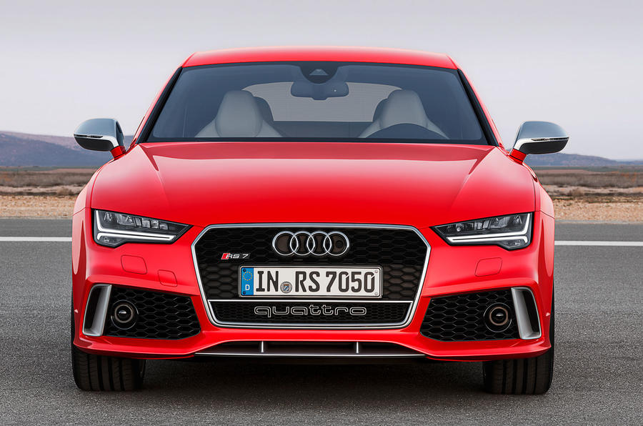 Audi reveals facelifted RS7 sportback