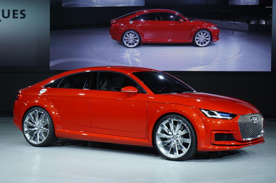 Audi considers TT model range extensions for production
