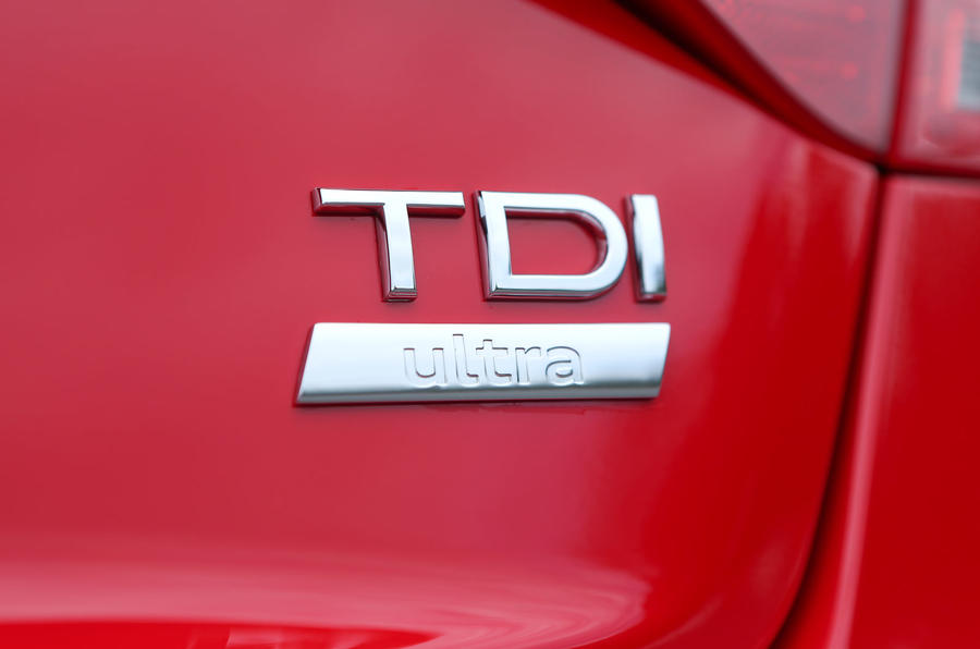 Audi A5 TDI badge