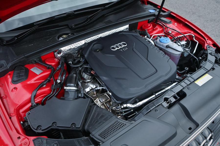 2.0-litre Audi A5 diesel engine