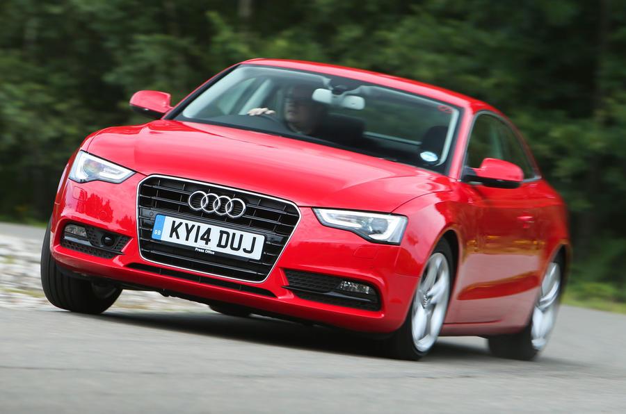 Audi A5 TDI cornering