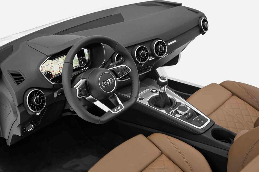New Audi TT interior shown at CES
