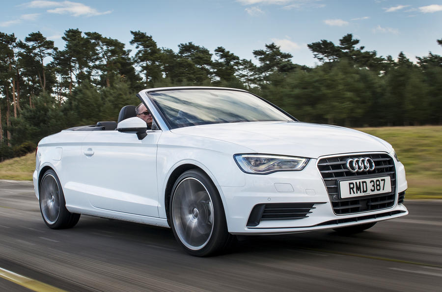 Audi A3 Cabriolet UK first drive review
