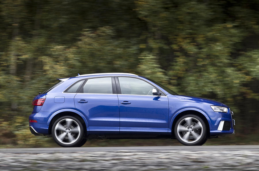 The sporty Audi RS Q3