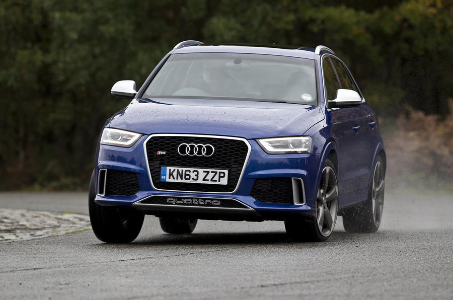 The composed Audi RS Q3