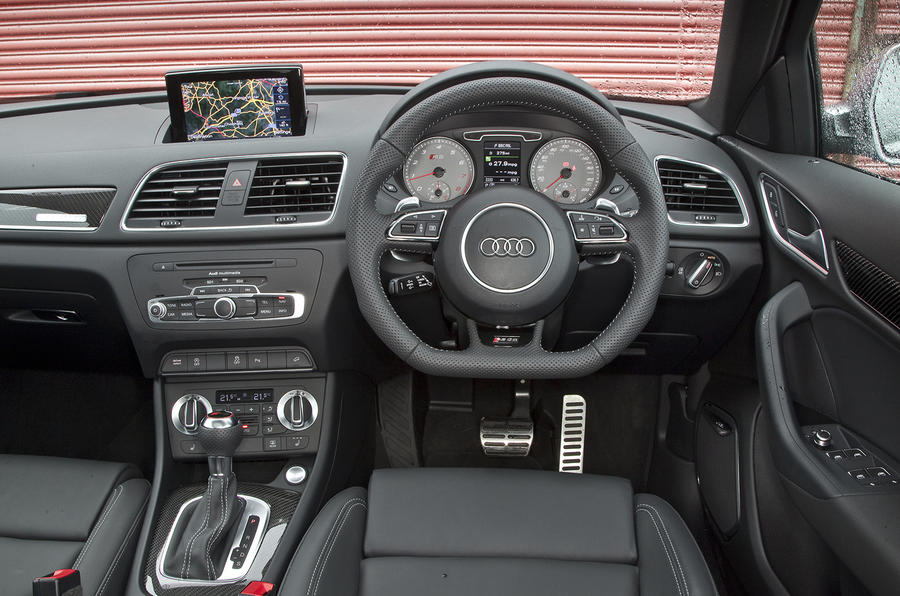 Audi RS Q3 driver's seat