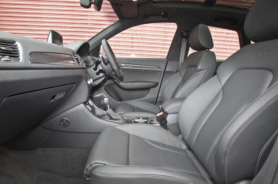 Audi RS Q3's interior