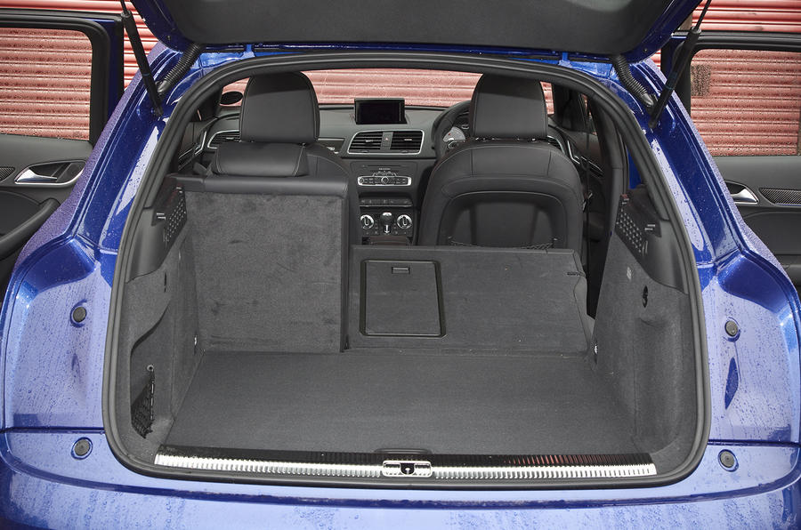 Audi RS Q3's seating flexibility