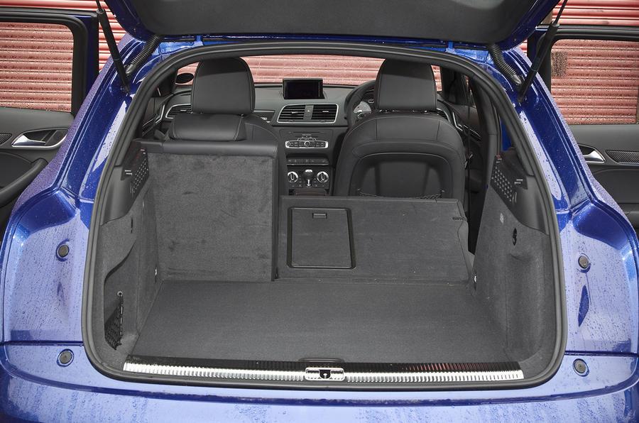 Audi RS Q3's seating flexibility