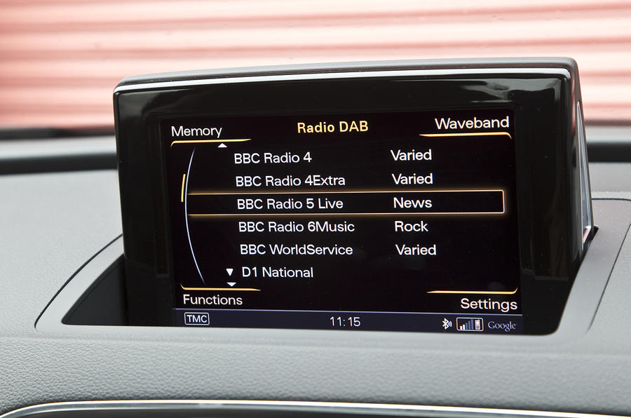 Audi's MMI infotainment system
