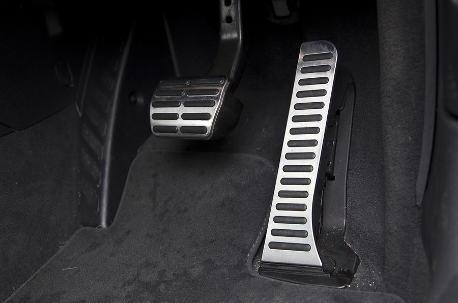 Audi RS Q3 aluminium pedals