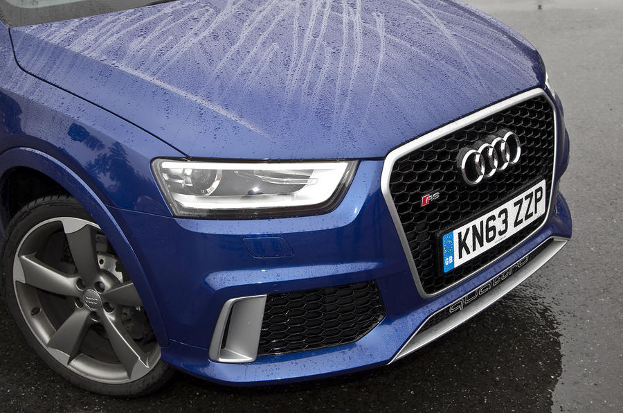 Aggressive-looking Audi RS Q3