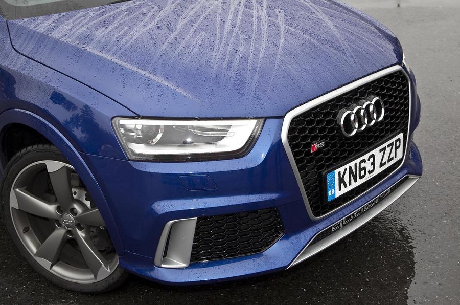 Aggressive-looking Audi RS Q3