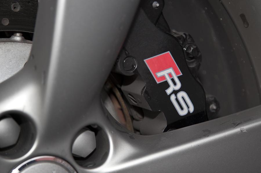 Audi RS brake calipers