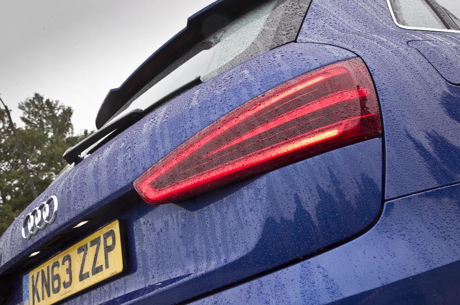 RS Q3 rear LED lights