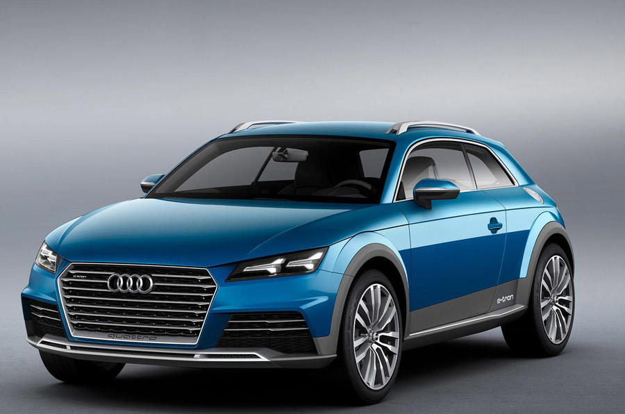 Audi Allroad Shooting Brake concept revealed