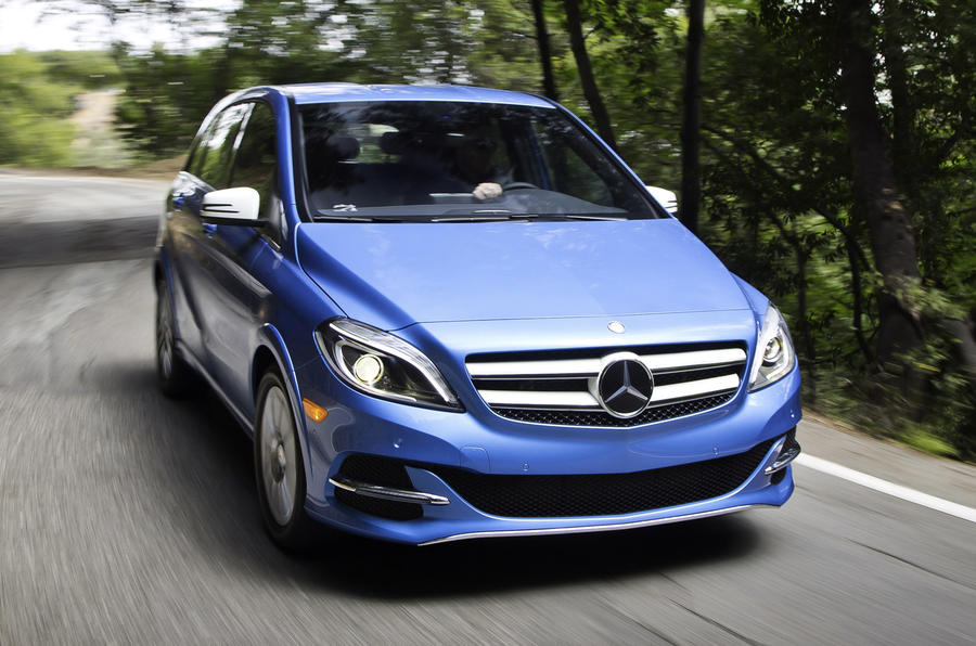 Mercedes-Benz B-class Electric Drive confirmed for Q1 next year