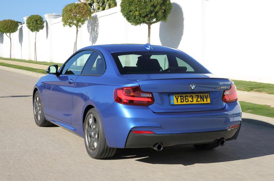 BMW M235i rear