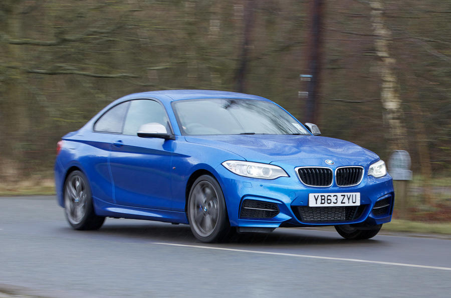 322bhp BMW M235i
