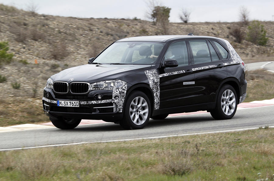 BMW X5 eDrive prototype first drive review