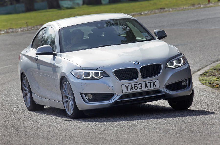 BMW 2 Series cornering