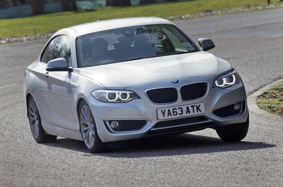 BMW 2 Series cornering