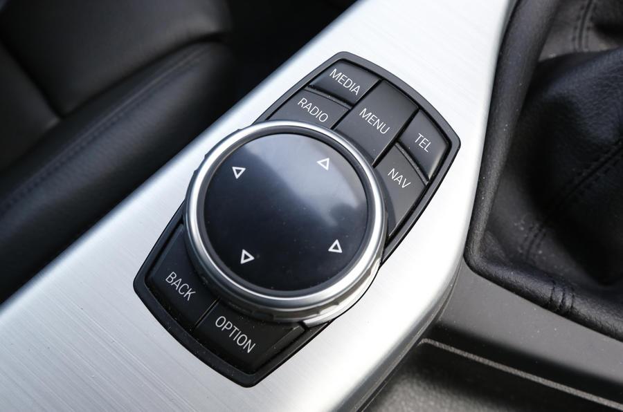 BMW's iDrive infotainment controls