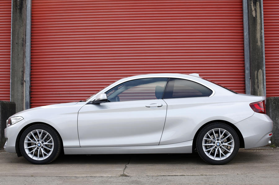 BMW 2 Series side profile
