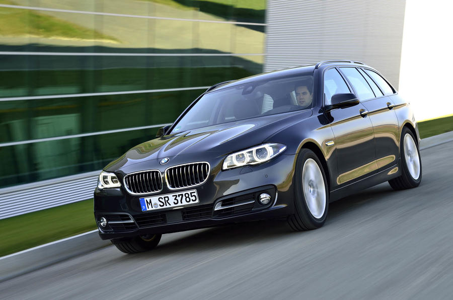 More power and greater economy for BMW 5-series diesels