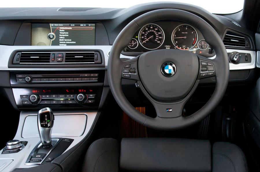 BMW 5 Series Touring interior