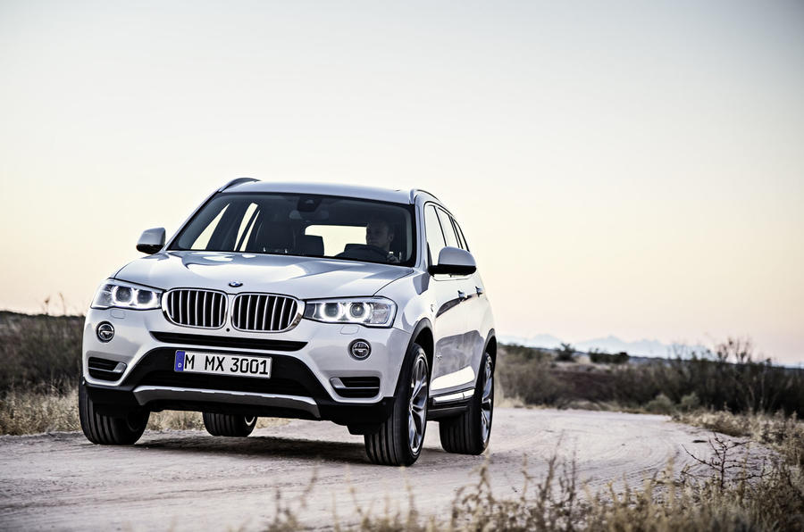 Revised BMW X3 revealed