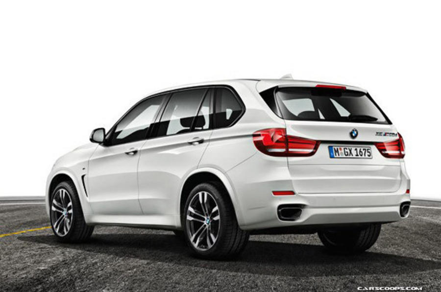 New BMW X5 revealed - updated gallery; prices; M50d details