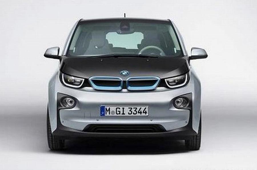 BMW i3 images leaked