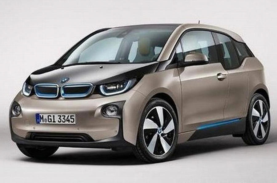 BMW i3 images leaked