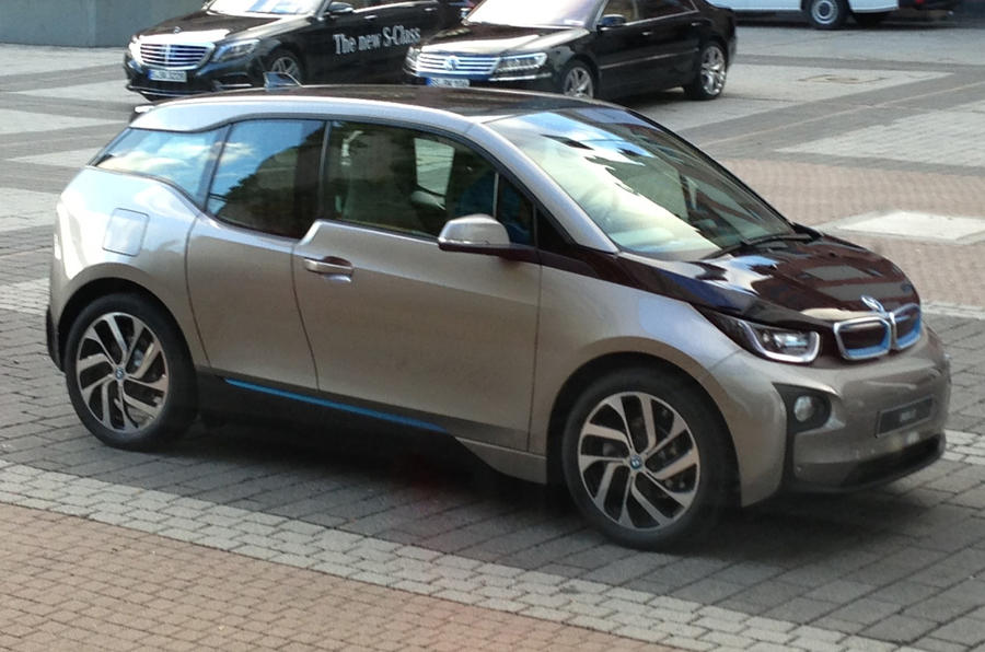 Getting to the IAA in BMW's i3