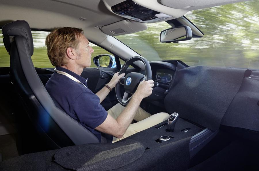Driving the BMW i8 prototype