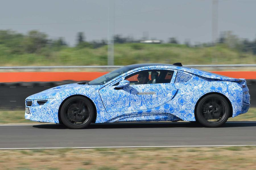 BMW i8 prototype side profile