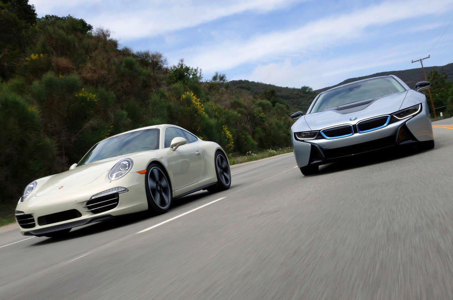 Comparison New Bmw I8 Vs Porsche 911
