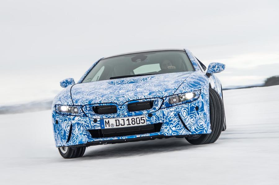 The BMW I8 Delivers Prodigious Performance From Three Power Sources